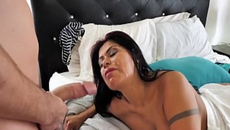 Spizoo - Latina Gabby Quinteros is fucked by a big dick, big booty