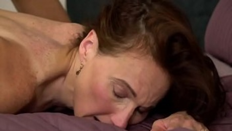Hot mature woman and her y. friend